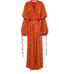 Caroline Constas - Doria Robe Dress - Lyst
