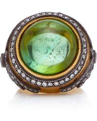Arman Sarkisyan - 22k Gold, Tourmaline And Diamond Ring - Lyst