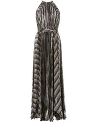 Maria Lucia Hohan - Exclusive Inais Halter Neck Pleated Dress - Lyst
