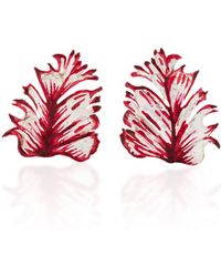 Luz Camino - Set Of 2 Petal Tulip Brooch - Lyst