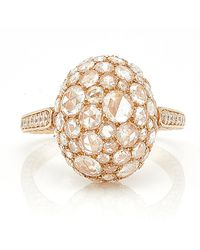Sidney Garber - Rosebud Rose Gold Ring - Lyst