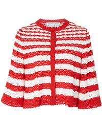 SPENCER VLADIMIR - Flare Striped Cardigan - Lyst