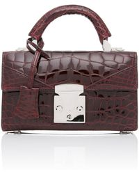 Stalvey - Top Handle 2.0 Alligator Shoulder Bag - Lyst