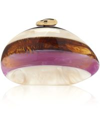 Benedetta Bruzziches - Amethyst And Mother Pearl Ariel Clutch - Lyst