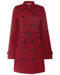 Burberry - Sandringham Double Breasted Trench Coat - Lyst