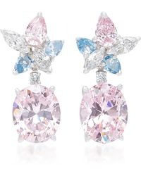 Anabela Chan - M'o Exclusive Blush Lily Earrings - Lyst