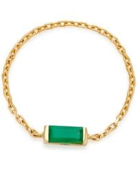 Yi Collection - 18k Emerald Chain Ring - Lyst