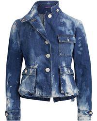 Ralph Lauren - Isabele Denim Safari Jacket - Lyst