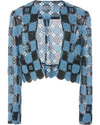 Lein - Cashmere Lace Jacket - Lyst