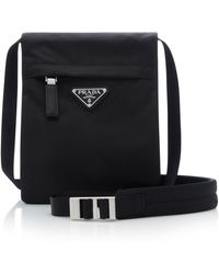 Prada - Small Technical Crossbody Bag - Lyst