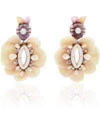 Ranjana Khan - Lotus Earrings - Lyst