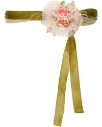 LoveShackFancy - Floral Tie Belt - Lyst