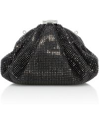 Judith Leiber Couture | Enchanted Crystal-embellished Satin Clutch | Lyst
