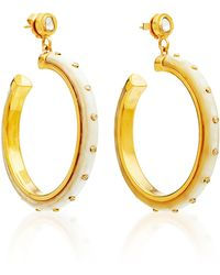 Ashley Pittman - Mila Earring Light Horn - Lyst