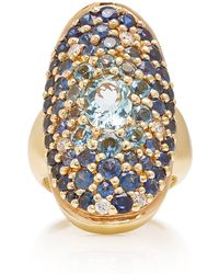 Sylvie Corbelin - Marquise Palace 18k Gold Multi-stone Ring - Lyst