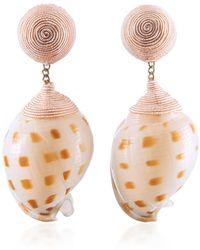 Rebecca de Ravenel - Ophelia Pink Earrings - Lyst