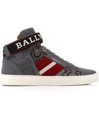 Bally - Heros Strap High-top Sneaker - Lyst