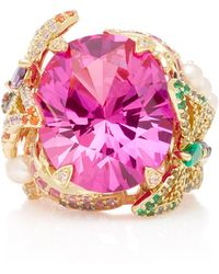 Anabela Chan | Rose Swallowtail Pink Sapphire Ring | Lyst