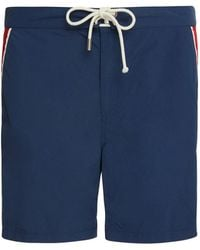 Solid & Striped - The Boardshort Piped Swim Trunks - Lyst
