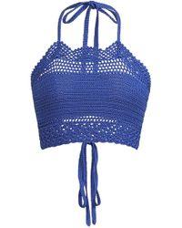 Ralph Lauren - Crochet Halter Top - Lyst