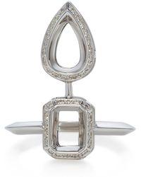 Jack Vartanian - Duo Style Diamond Ring - Lyst