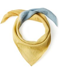 TOME - Voile Cotton Scarf - Lyst