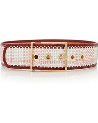 Maison Boinet - Exclusive Plaid Waist Belt - Lyst