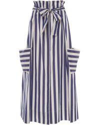 WHIT - Pocket Organic Cotton Skirt - Lyst