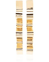 Bia Daidone - Sofia 24k Gold-plated Earrings - Lyst