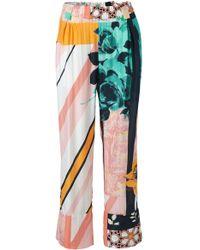 Stine Goya - Vinnie Wide Leg Floral Pant - Lyst