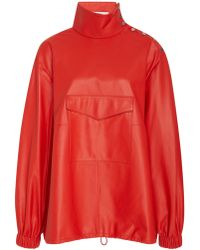 Tibi - Tissue Leather Top - Lyst