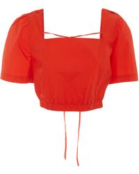 WHIT - Darcy Organic Cotton Top - Lyst