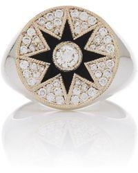 Colette - Star Enamel Ring - Lyst