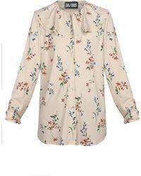 Dalood - Floral Print Blouse - Lyst