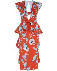 Johanna Ortiz - Kalahari Stretch Cotton Sateen Dress - Lyst