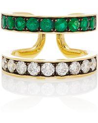 Jemma Wynne Privé Double Band Ring