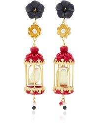 Of Rare Origin - Aviary 18k Gold Multi-stone Earrings - Lyst