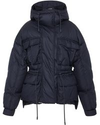Sportmax - Ottavia Quilted Shell Hooded Puffer Jacket - Lyst