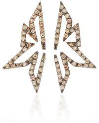 Kavant & Sharart - 18k Gold Diamond Stud Earrings - Lyst