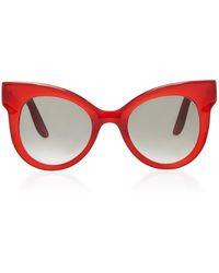 LAPIMA - Ana Cat-eye Acetate Sunglasses - Lyst