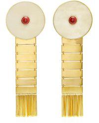 Monica Sordo - Kon 24k Gold-plated Earflare Earrings - Lyst