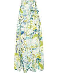 Banjanan - Discovery Printed Cotton Skirt - Lyst
