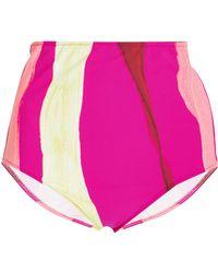 Araks - Mallory High Rise Hipster Bikini Bottom - Lyst