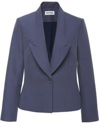 Nellie Partow - Liev Tailored Cotton Blazer - Lyst