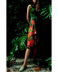 Isolda - Mumbai Green Dress - Lyst