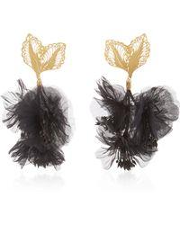 Mallarino - Rosalia Black Earrings - Lyst