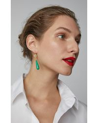 Arman Sarkisyan - 22k Gold, Tsavorite, Chrysoprase And Diamond Earrings - Lyst