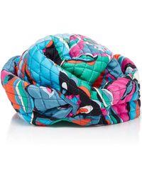 Emilio Pucci - Quilted Silk Turban - Lyst