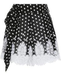 Miguelina - Liana Mini Shorts - Lyst