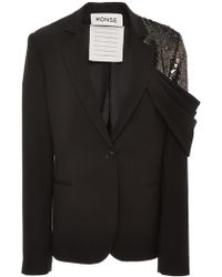Monse - Sequin Shoulder Jacket - Lyst